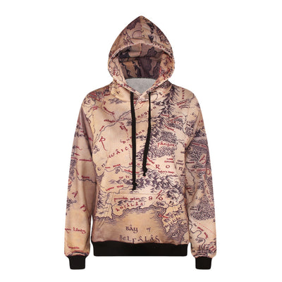 Color tiger 3D digital printing sweater Pullover Hooded bomber