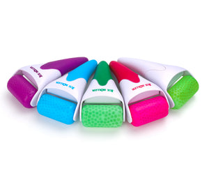 Ice Roller Cooling Skin Massager - Pore Shrinking + Acne Healing + Removes Eye bags + Puffy Face + Tightens Pores + Tension Relief