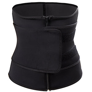 High Quality Two Piece Zip + Velcro Waist Cincher