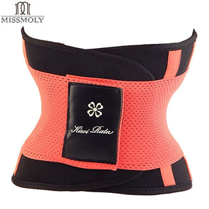 Newest Design Slimming Belt For Body Shaping + Workout Stomach Sweat Band