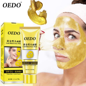 24k Gold Peel Off Satisfying Face Mask (Removes Whiteheads + Blackheads Instantly)