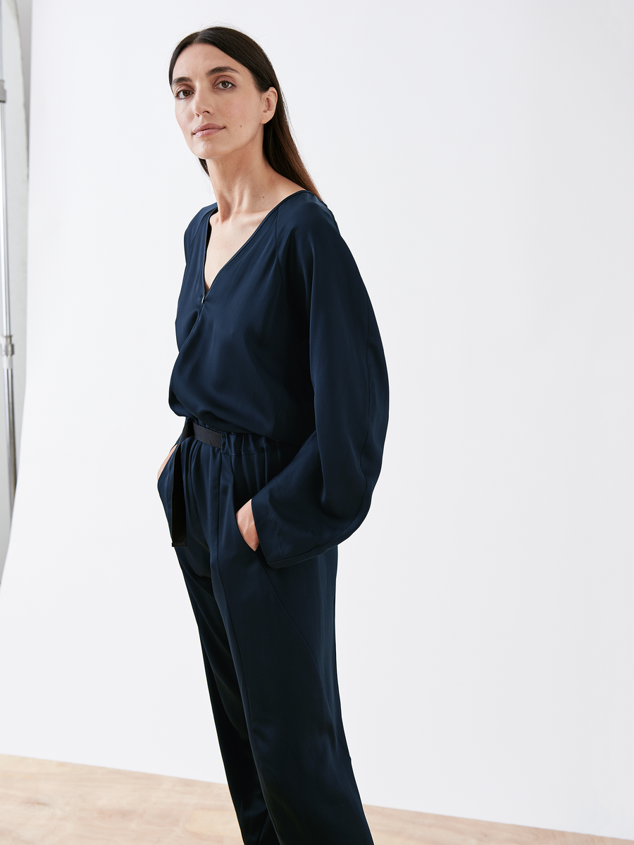 Long-Sleeved Akeo Jumpsuit