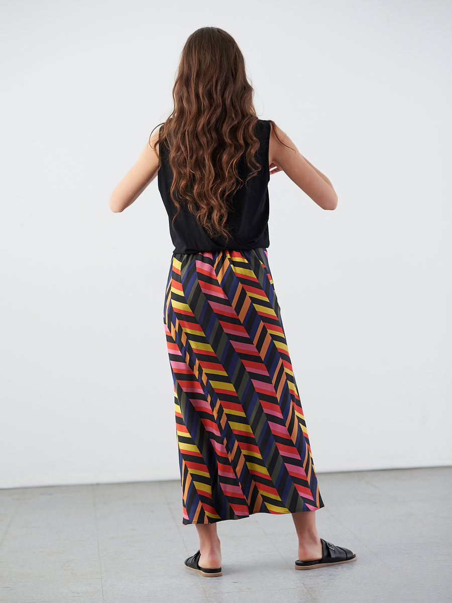 Bias Slip Skirt