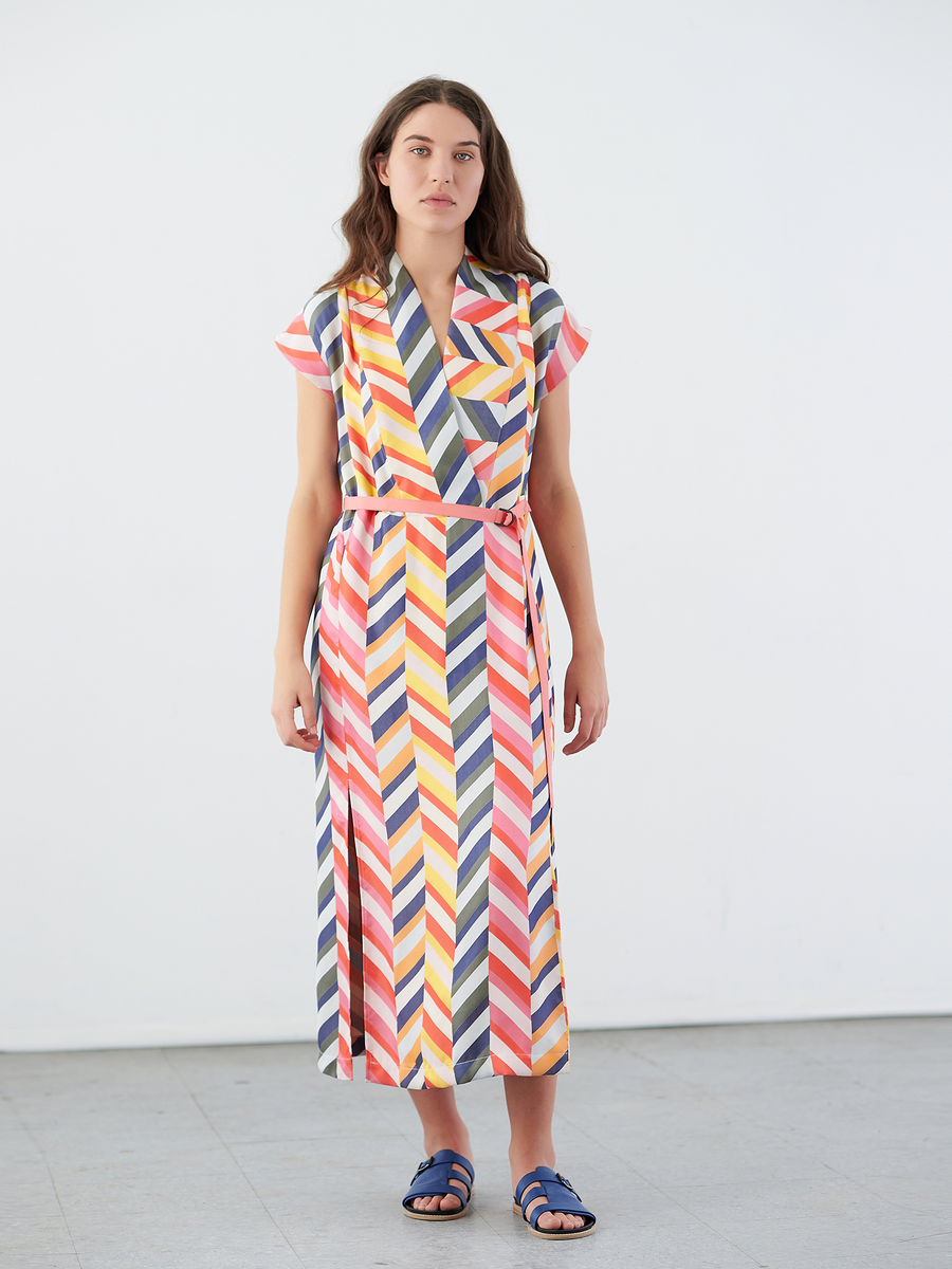 Long Leah Dress With Belt