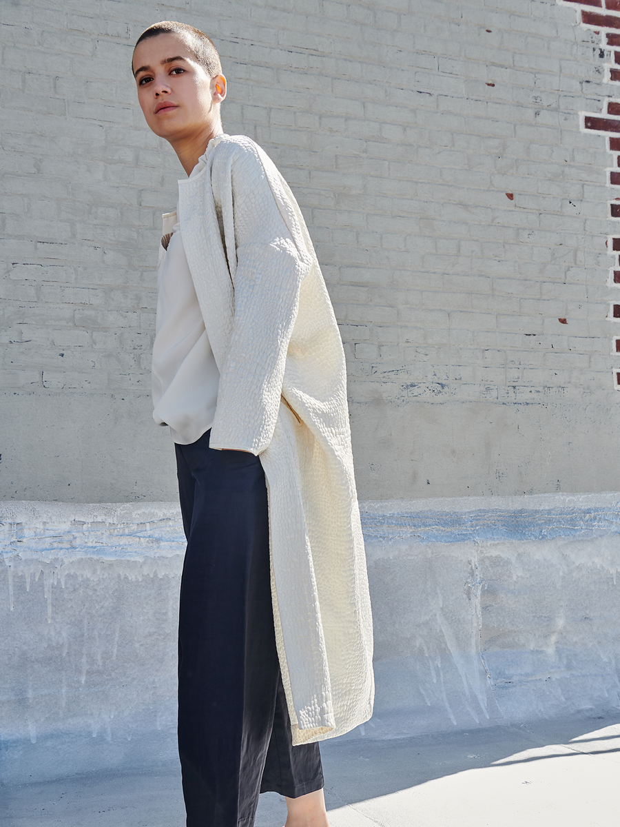 Long-Sleeved Koya Coat