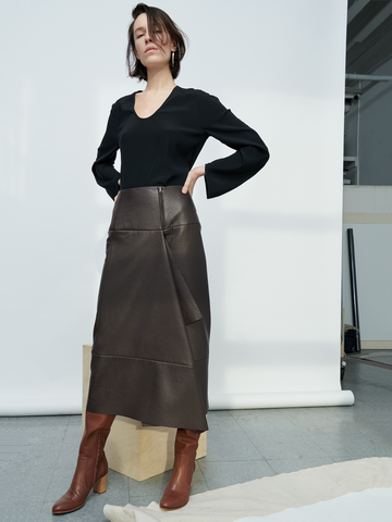Leather Miro Skirt