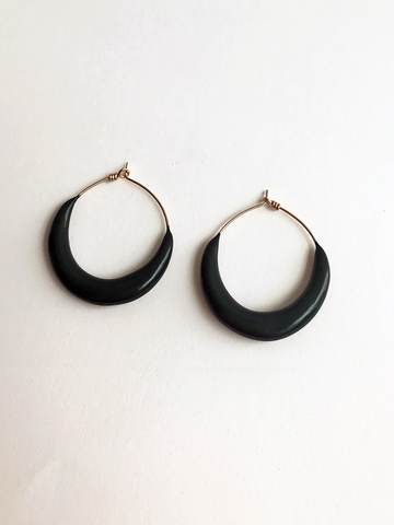 Bartleby Objects Gold Hoops
