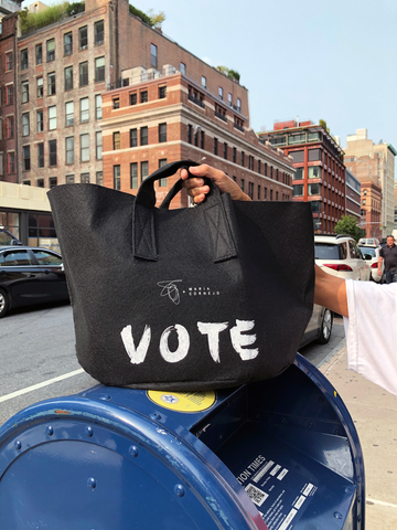 Vote Fashion Our Future Tote