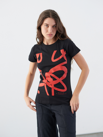 Short-Sleeved Zero Squiggle T-Shirt