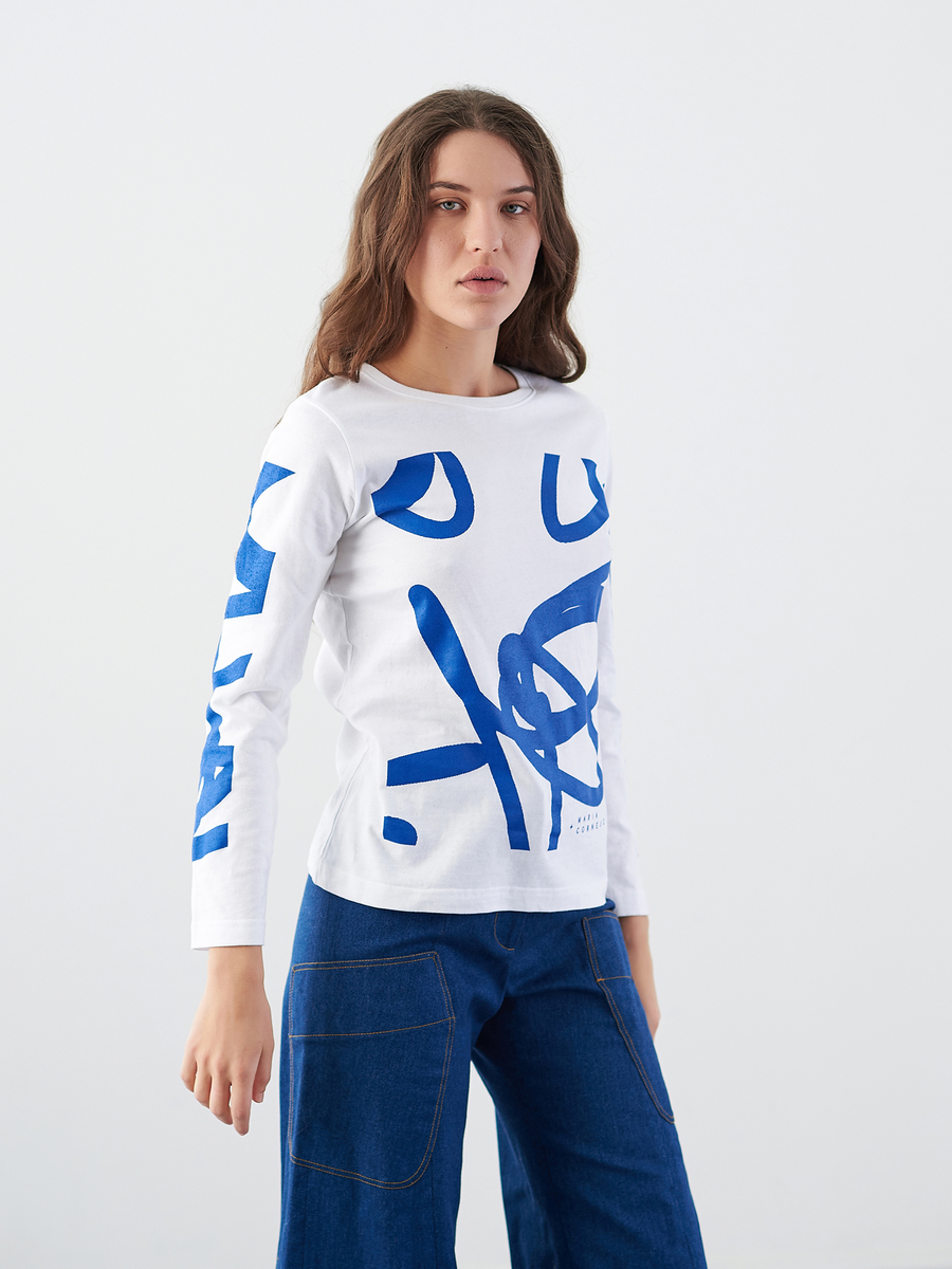 Long-Sleeved Zero Squiggle T-Shirt