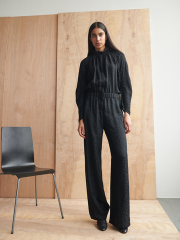 Long-Sleeved Ram Gaban Jumpsuit