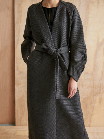 Evening Curve Oki Coat