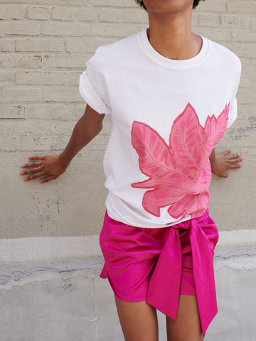 Botanical Applique T-Shirt