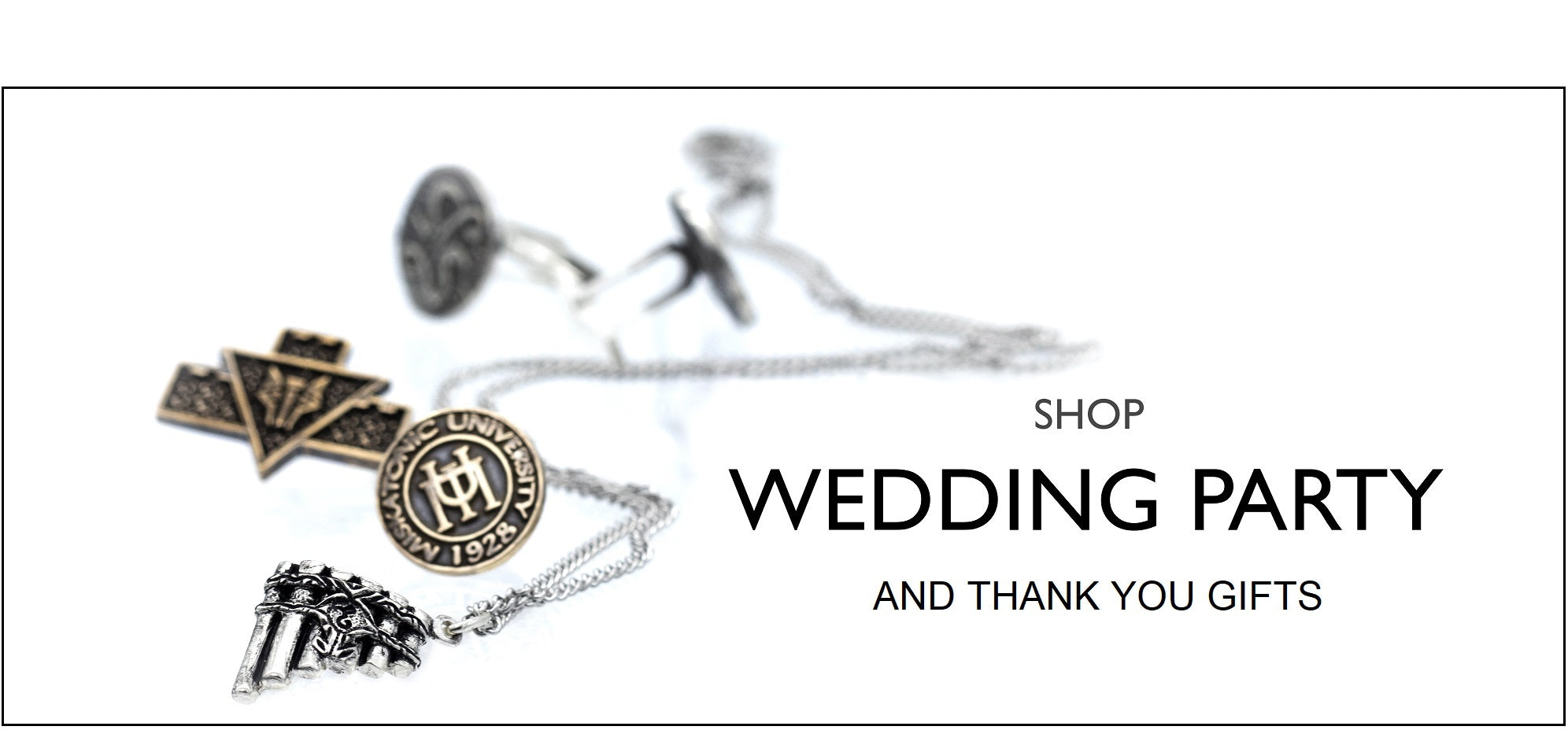 Buy gifts for your wedding party and thank you gifts