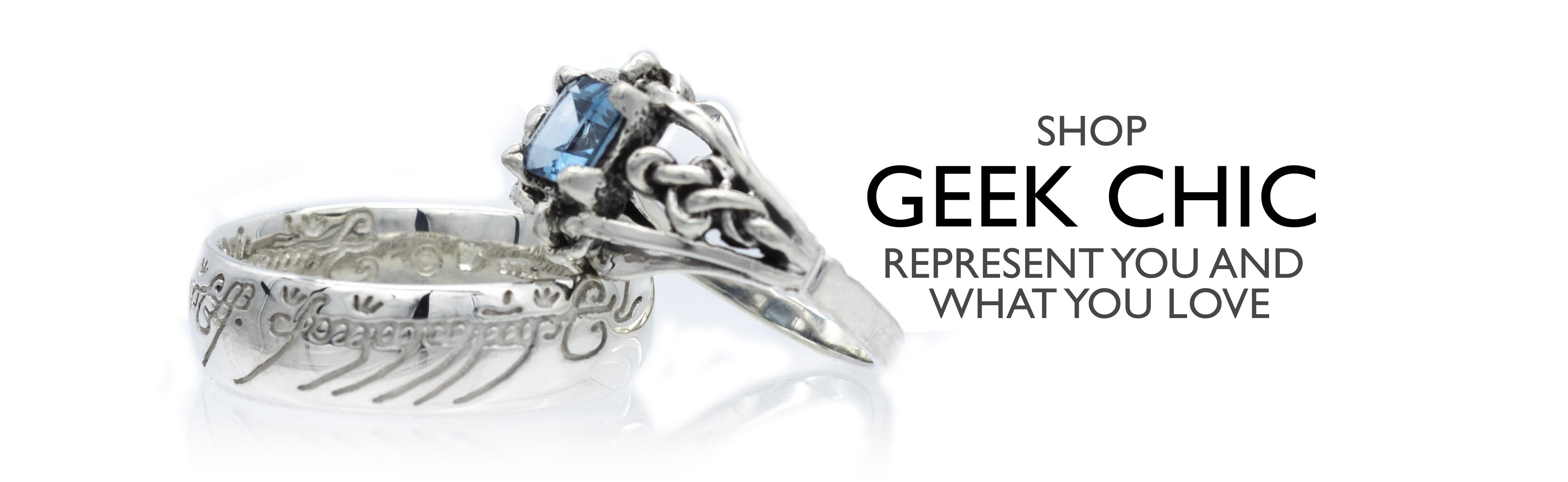 Geek Chic represent you and what you love