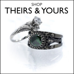 Shop theirs and yours wedding sets
