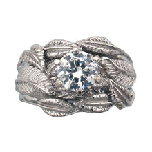 Load image into Gallery viewer, Platinum NENYA™ Tracer Band - Badali Jewelry - Ring