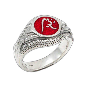 Enameled Impact Ward Ring - Badali Jewelry - Ring
