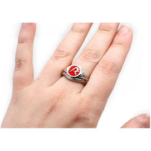 Load image into Gallery viewer, Enameled Impact Ward Ring - Badali Jewelry - Ring
