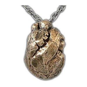 Anatomical Heart Necklace - Badali Jewelry - Necklace