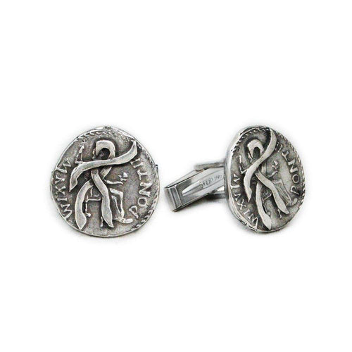 Anduriel's Blackened Denarius Cufflinks - Badali Jewelry - Cufflinks