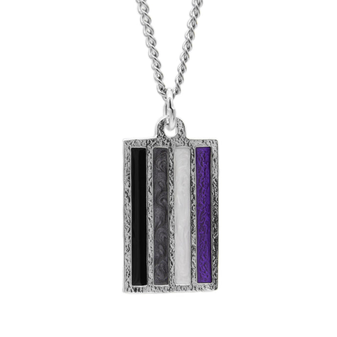 Asexual PRIDE Necklace - Badali Jewelry - Necklace