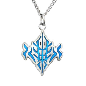 Beteb Glyph Pendant - Enameled Silver - Badali Jewelry - Necklace