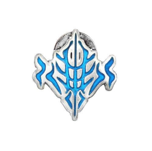 Beteb Glyph Pin - Enameled Silver - Badali Jewelry - Pin