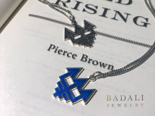 Load image into Gallery viewer, Blue Society Pendant - Badali Jewelry - Necklace