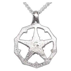 Bone Faction Pendant - Silver - Badali Jewelry - Necklace