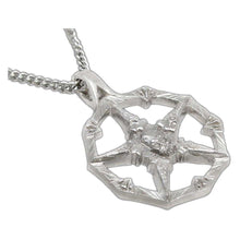 Load image into Gallery viewer, Bone Faction Pendant - Silver - Badali Jewelry - Necklace