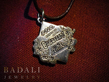 Load image into Gallery viewer, Born Big Pendant - Bronze/Brass - Badali Jewelry - Necklace