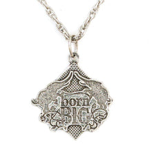 Load image into Gallery viewer, Born Big Pendant - Sterling Silver - Badali Jewelry - Necklace