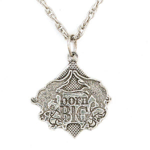 Born Big Pendant - Sterling Silver - Badali Jewelry - Necklace
