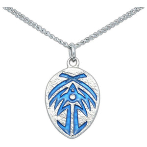 Bridge Four Badge - Enameled Silver - Badali Jewelry - Necklace