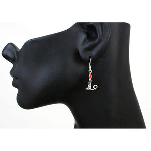 Chandrian Flame Earrings - Badali Jewelry - Earrings