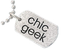 Load image into Gallery viewer, CHIC GEEK TAG™ - Badali Jewelry -