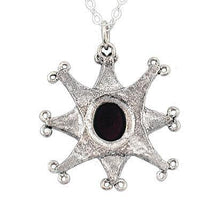 Load image into Gallery viewer, Clearance Gemstone Compass Necklace - Badali Jewelry - Necklace