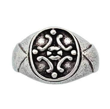 Load image into Gallery viewer, Clearance Medieval Signet Ring - Size 6 & 6.5 - Badali Jewelry - Ring