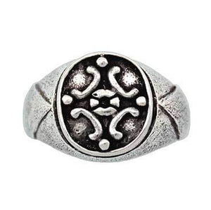 Clearance Medieval Signet Ring - Size 6 & 6.5 - Badali Jewelry - Ring