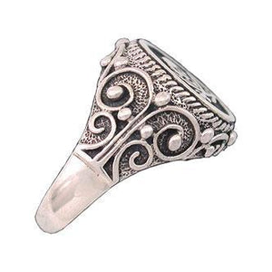 Clearance Pirate Signet Ring - ONLY 7 left - Badali Jewelry - Ring