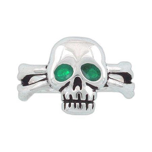 Clearance Skull & Crossbones Ring, Sizes 10 - 13 - Badali Jewelry - Ring