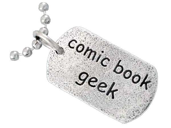 COMIC BOOK GEEK TAG™ - Badali Jewelry -