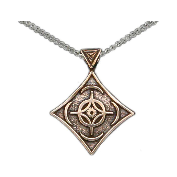 Cosmere Pendant - Bronze - Badali Jewelry - Necklace