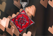 Load image into Gallery viewer, Cosmere Pendant - Enameled Silver - Badali Jewelry - Necklace
