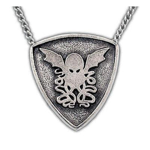 Cthulhu Crest Necklace - Badali Jewelry - Necklace