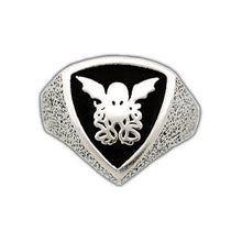 Load image into Gallery viewer, Cthulhu Crest Ring - Badali Jewelry - Ring