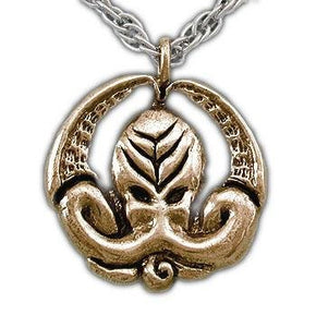 Cthulhu Medallion - Bronze - Badali Jewelry - Necklace