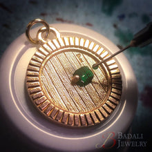 Load image into Gallery viewer, Custom Hobbiton™ Door - Bronze - Badali Jewelry - Necklace
