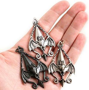 Dracula Bat Pendant - Bronze - Badali Jewelry - Necklace